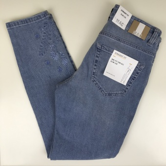 MAC, ljus jeans