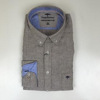Fynch Hatton, soft solid linen skjorta