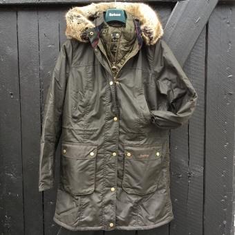 Barbour, Helsby wax jacket