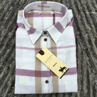 Barbour, oxer shirt cream check