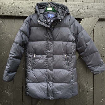 Gant, classic long down jacket