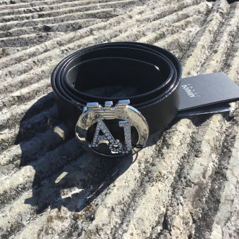 Armani, plate belt