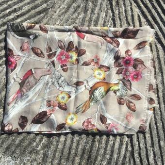 Stenströms scarf, bird flower