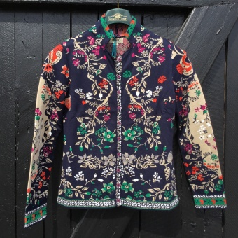 Ivko, Jacket floral pattern