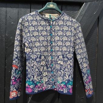 Ivko, Cardigan, floral pattern