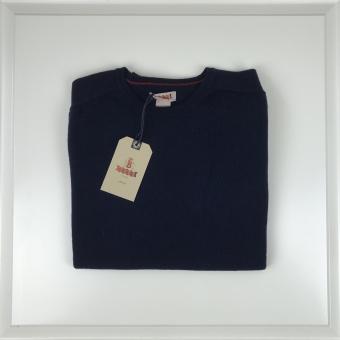 Baracuta, light wool cashmere crew neck sweater
