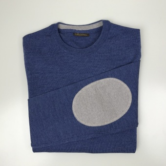 Stenströms, Crew neck w. patch