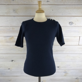 GANT, Ribbed jumper with buttons