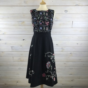 IVKO, Dress Floral Embroidery