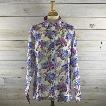 Stenströms, Floral linen feminine shirt