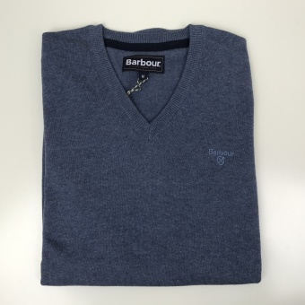 Barbour, Pima cotton v-neck