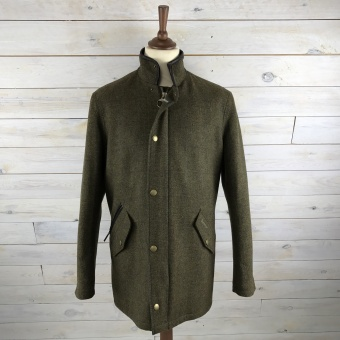Barbour, wimberel wool jacket