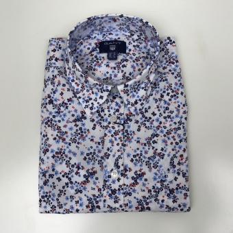 GANT, Stretch broadcloth meadow flower