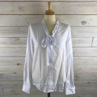 GANT, Tp oxford bow blouse