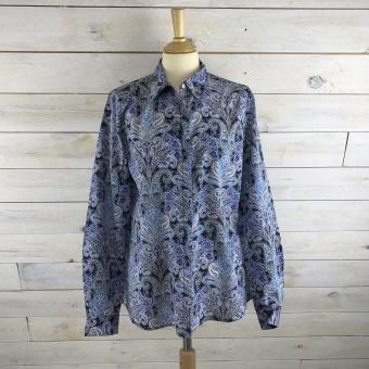 Stenströms, Paisley feminine silk shirt