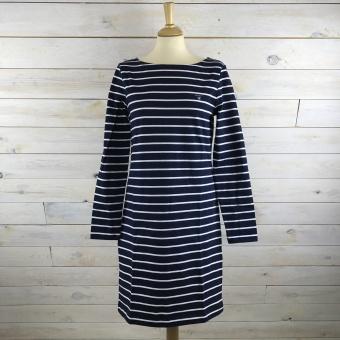 GANT, Breton Stripe Boatneck Dress