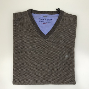 Fynch Hatton, V-neck pique