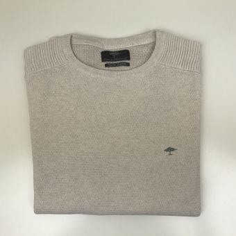 Fynch Hatton, O-neck biker detail sweater