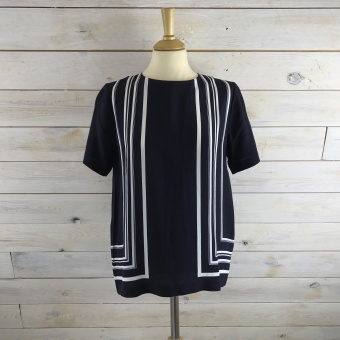 GANT, Border striped top