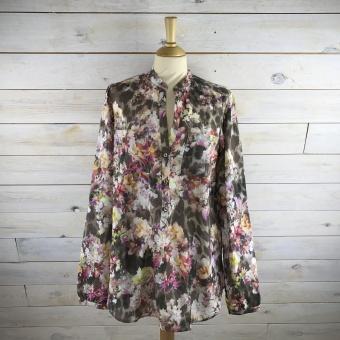 Stenströms, Floral leopard feminine blouse