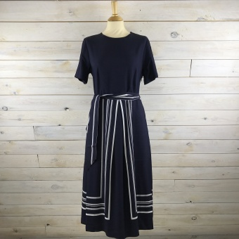 GANT, Border striped dress