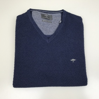 Fynch Hatton, V-neck Structure sweater
