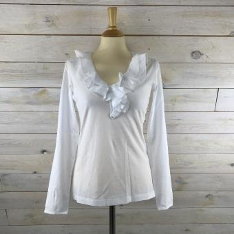 Hansen & Jacob, Jersey ruffle blouse