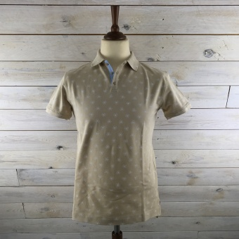Hansen & Jacob, Supima allover print polo