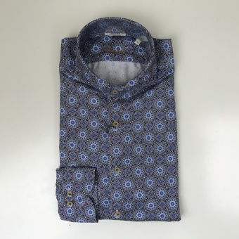 Stenströms, Kaleidoscope fitted body shirt