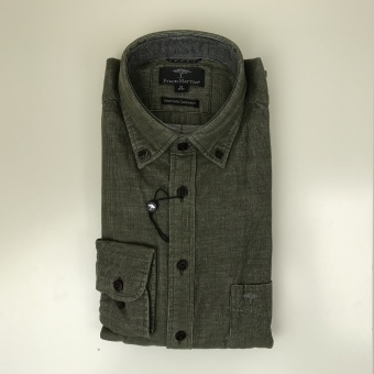 Fynch Hatton, Melange corduroy shirt