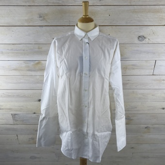 GANT, Oversized broadcloth shirt