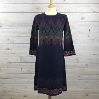 Ivko, mönstrad klänning