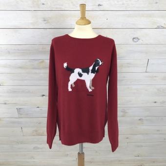 Barbour, tröja m hund