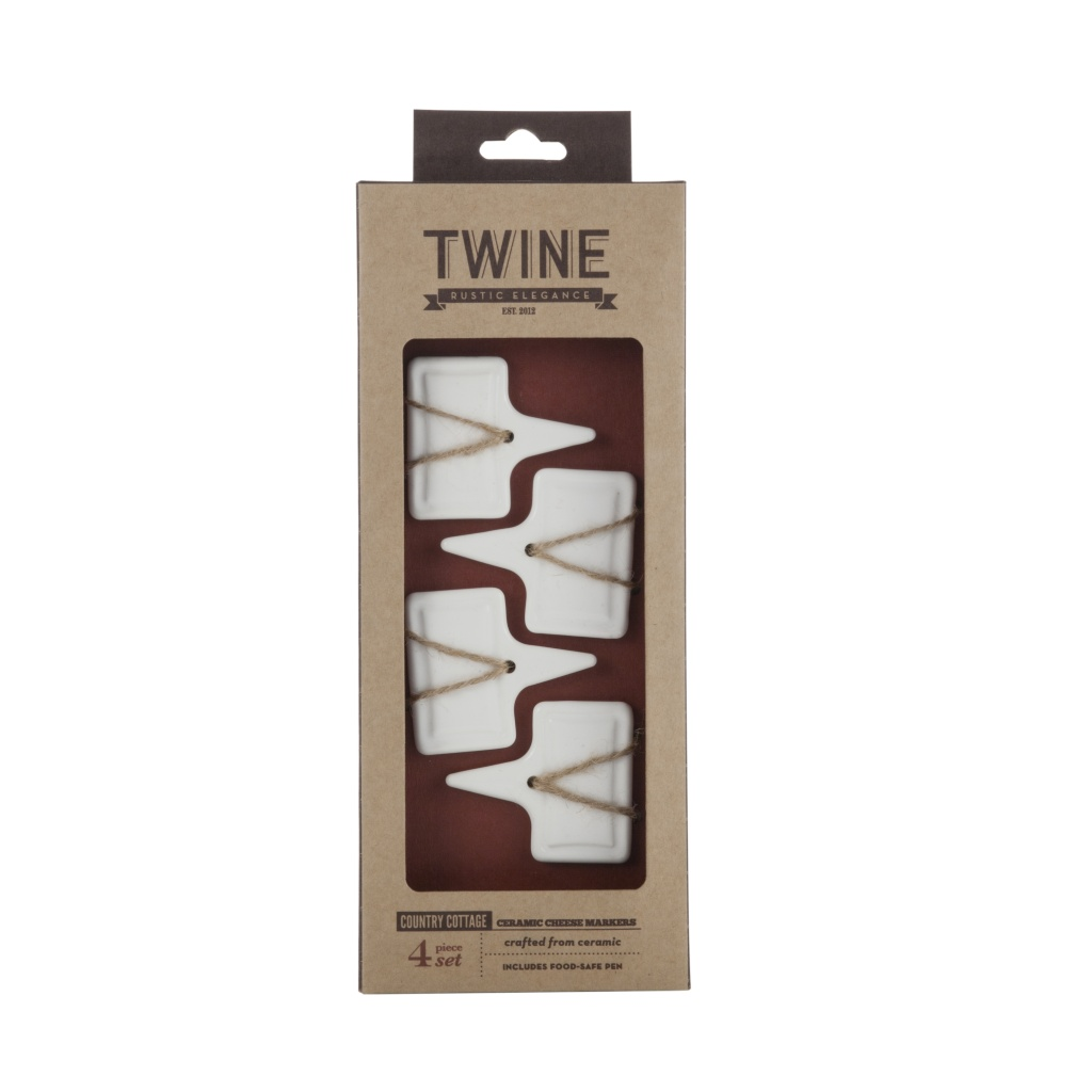 TWINE Ceramic cheese marker