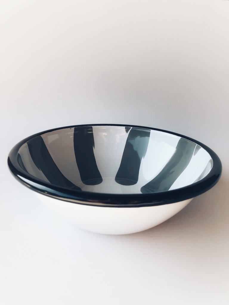 Kapka Grey Salad Bowl ø190x65