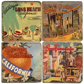 Coaster Vintage California