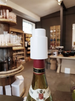 Vacuum Wine Stopper White