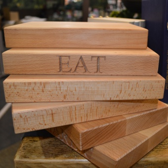 EAT cutting board