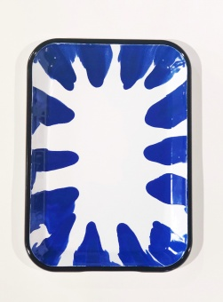 Kapka Blue Serving Tray
