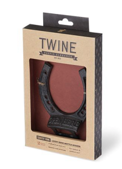 TWINE Lucky shoe bottle opener