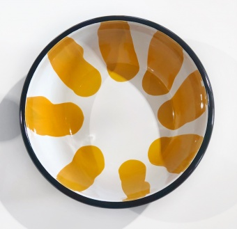 Kapka Yellow Big Salad Bowl
