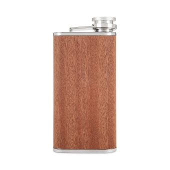 Forster & Rye Wood Flask