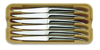 Heritage Laguiole 6 steak knives SS