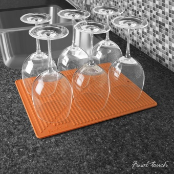 Drying Mat Orange