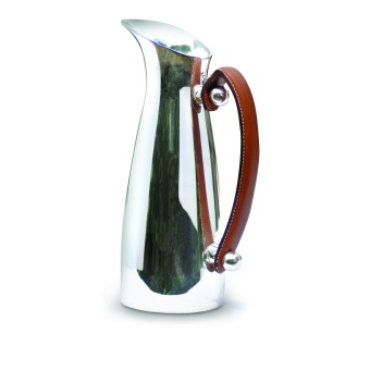 Leather handled pitcher