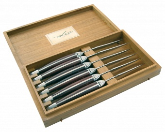 Steak knives Domaine Carladez Laguiole
