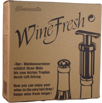 Vakuum pump Wine fresh