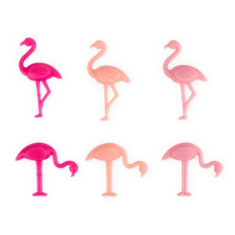 Flamingo Drink Charms
