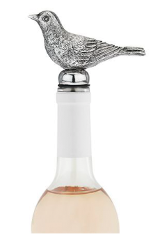 TWINE Bird bottle stopper