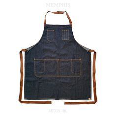 MEMPHIS Adjustable BiB Indigo Blue